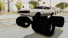 Dodge Challenger 1970 Monster Truck para GTA San Andreas