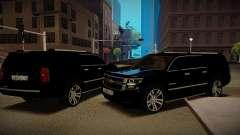 2015 Chevrolet Suburban de la Oficina del Fiscal para GTA San Andreas