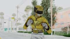 Power Rangers Megaforce - Yellow para GTA San Andreas