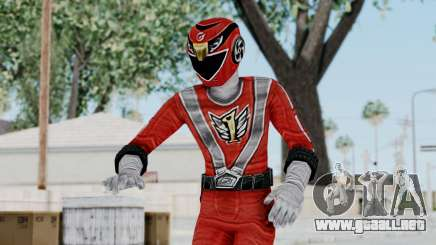 Power Rangers RPM - Red para GTA San Andreas