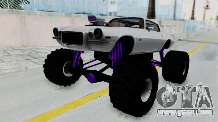 Chevrolet Camaro Z28 1970 Monster Truck para GTA San Andreas