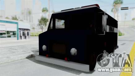CCPD Boxville from Manhunt para GTA San Andreas