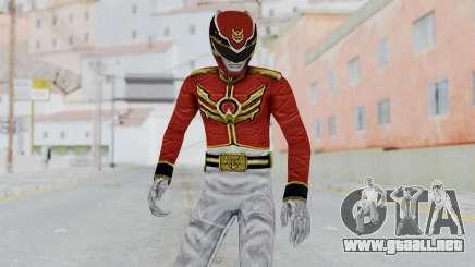 Power Rangers Megaforce - Red para GTA San Andreas