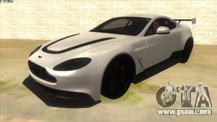 2015 Aston Martin Vantage GT12 para GTA San Andreas