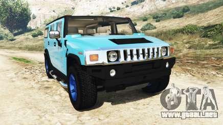 Hummer H2 2005 [teñido] v2.0 para GTA 5