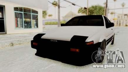 Toyota AE86 Sprinter Trueno para GTA San Andreas