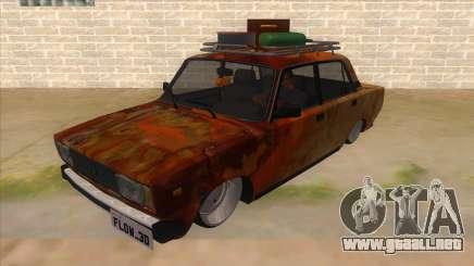 VAZ 2107 Rusty Gringo para GTA San Andreas