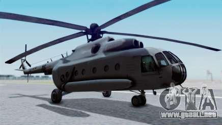 Mi-8 Croatian para GTA San Andreas