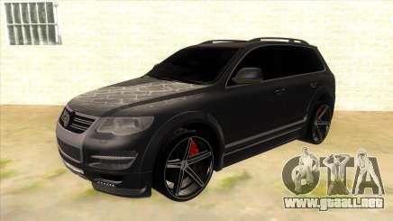 Volkswagen Touareg HQ para GTA San Andreas