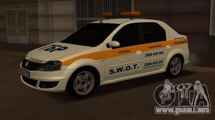 Renault Logan Security Service para GTA San Andreas