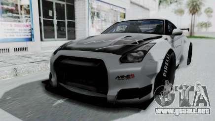 Nissan GT-R R35 2010 Liberty Walk para GTA San Andreas