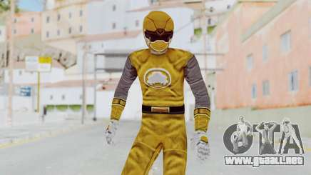 Power Rangers Ninja Storm - Yellow para GTA San Andreas