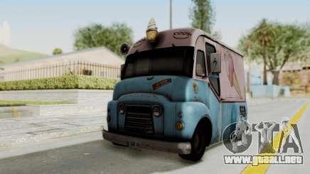 Hitman Absolution - Ice Cream Van para GTA San Andreas