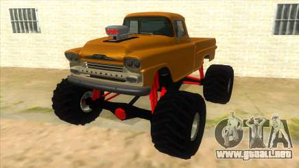 1958 Chevrolet Apache Monster Truck para GTA San Andreas