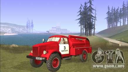 GAZ 63 de Bomberos para GTA San Andreas