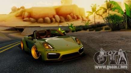 Porsche Boxster GTS LB Work para GTA San Andreas