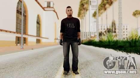 GTA 5 Tattooist v1 para GTA San Andreas segunda pantalla
