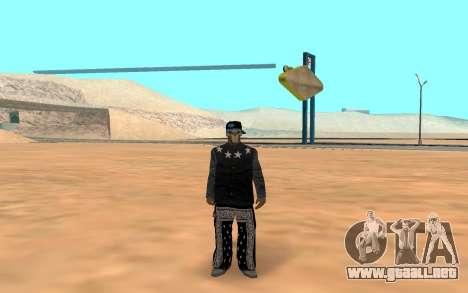 Varios Los Aztecas Gang Member para GTA San Andreas