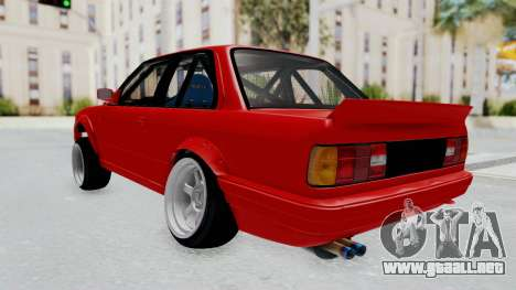 BMW M3 E30 Rocket Bunny Drift Style para GTA San Andreas left