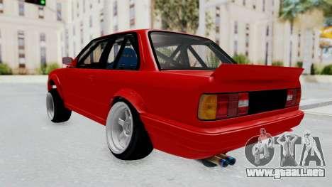 BMW M3 E30 Rocket Bunny Drift Style para GTA San Andreas left