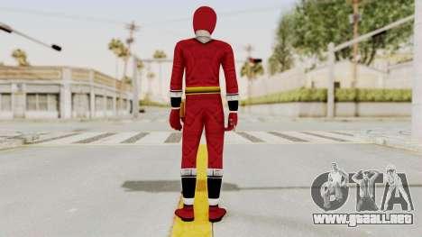 Alien Rangers - Red para GTA San Andreas tercera pantalla