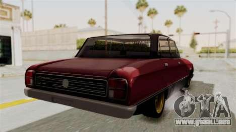 Ford Falcon Sprint para la visión correcta GTA San Andreas