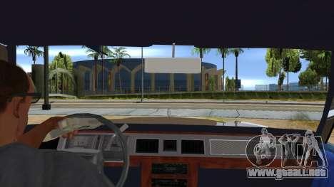 Mercury Grand Marquis 1986 v1.0 para visión interna GTA San Andreas
