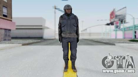 MGSV Phantom Pain Zero Risk Vest v1 para GTA San Andreas segunda pantalla