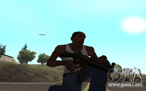 Redline weapon pack para GTA San Andreas séptima pantalla