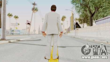 Scarface Tony Montana Suit v4 with Glasses para GTA San Andreas tercera pantalla