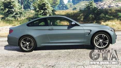 GTA 5 BMW M4 GTS vista lateral izquierda