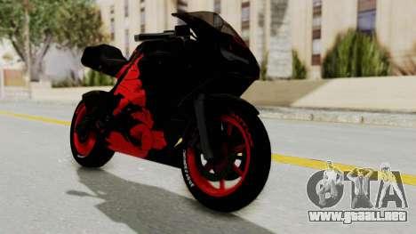 Bati Batik Hellboy Motorcycle v3 para GTA San Andreas