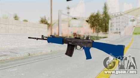 IOFB INSAS Dark Blue para GTA San Andreas segunda pantalla