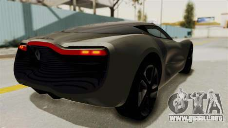 Renault Dezir Concept para GTA San Andreas left