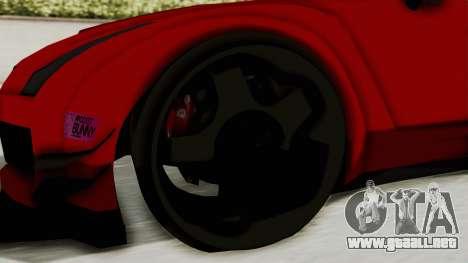 GTA 5 Annis Elegy Twinturbo No Spec para GTA San Andreas vista hacia atrás