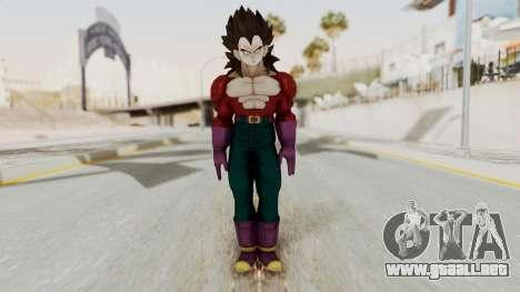 Dragon Ball Xenoverse Vegeta SSj4 para GTA San Andreas segunda pantalla