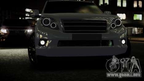 Toyota Land Crusier Prado 150 para GTA 4 visión correcta