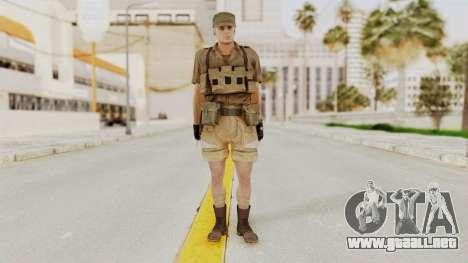 MGSV Phantom Pain CFA Combat Vest 1 v2 para GTA San Andreas segunda pantalla