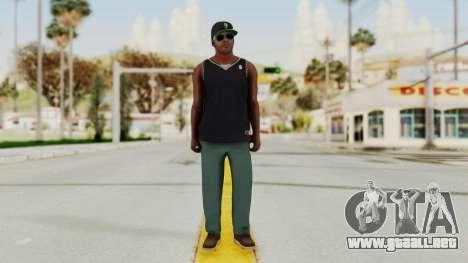 GTA 5 Franklin v3 para GTA San Andreas segunda pantalla