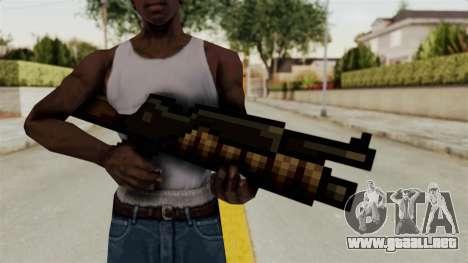 Heavy Machinegun from Metal Slug para GTA San Andreas tercera pantalla