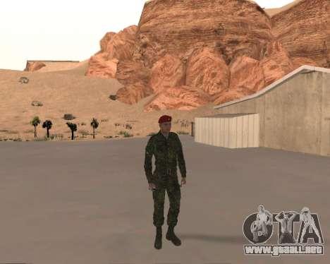 Pak Militar Ruso para GTA San Andreas sucesivamente de pantalla