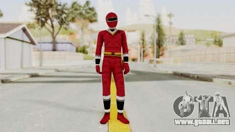 Alien Rangers - Red para GTA San Andreas segunda pantalla