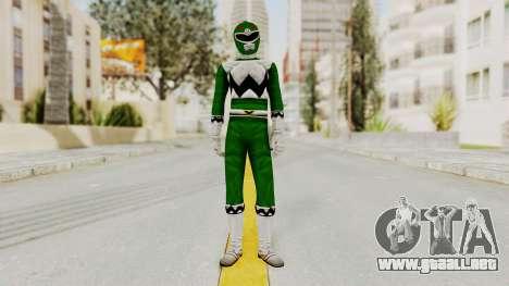 Power Rangers Lost Galaxy - Green para GTA San Andreas segunda pantalla