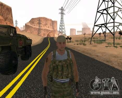 Pak Militar Ruso para GTA San Andreas