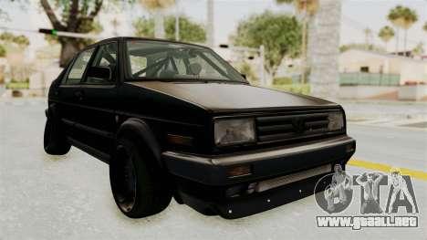 Volkswagen Jetta 2 para GTA San Andreas