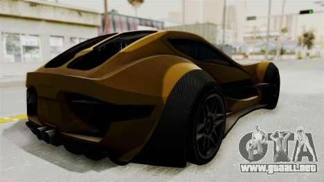 Felino CB7 para GTA San Andreas left