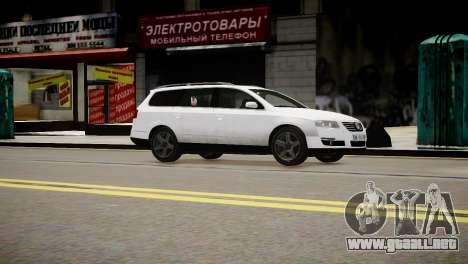 Volkswagen Passat Variant 2010 V1 para GTA 4 visión correcta