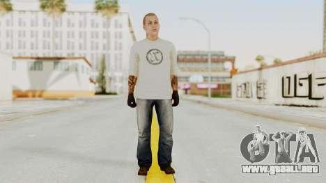 GTA 5 Tattooist v2 para GTA San Andreas segunda pantalla
