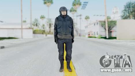 MGSV Phantom Pain Zero Risk Vest v2 para GTA San Andreas segunda pantalla