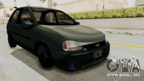Chevrolet Corsa para la visión correcta GTA San Andreas